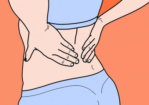 מה הקשר בין עצירות לכאבי גב תחתון?