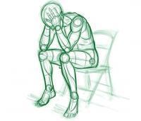 האם דיכאון גורם לעצירות?